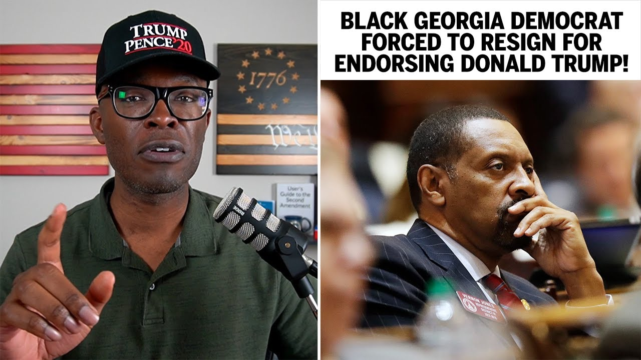 Black Democrat FORCED OUT Of Party For Endorsing Trump!