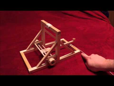 how to build a trebuchet youtube