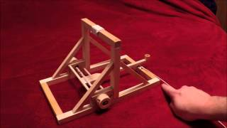 Small Wooden Catapult Project