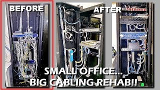 #019: Small Office / Big Cabling Rehab!!