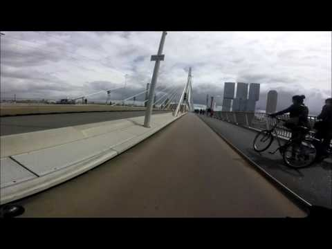 #GoPro scooter cam/ride through Rotterdam - #Ep.2