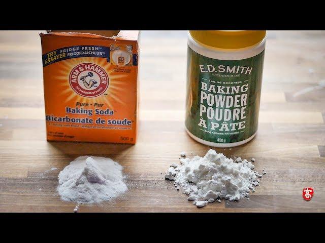 小苏打和泡打粉的区别 Baking Soda vs Baking Powder
