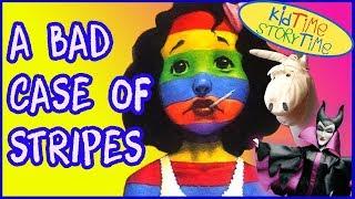 Kids Books: A Bad Case of Stripes read aloud for children Camilla w...