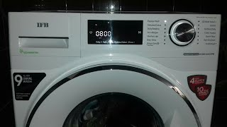 Introducing with new IFB front load washing machine ! EXECUTIVE PLUS VX ID 1400RPM ! first look !