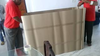 Deepak Packers & Movers - Crockery Cabinet Packing