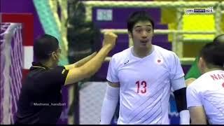 ハンドボール 2018 アジア大会 男子メインラウンド 日本vsサウジアラビア戦  ダイジェスト版