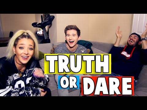 Thumbnail: TWISTED TRUTH or DARE w/ JENNA MARBLES & JULIEN SOLOMITA