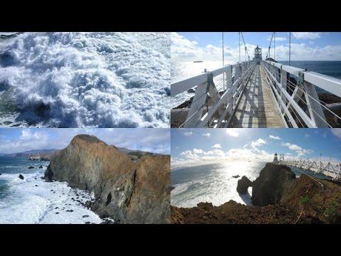 Point Bonita, the Golden Gate's far-flung lighthouse