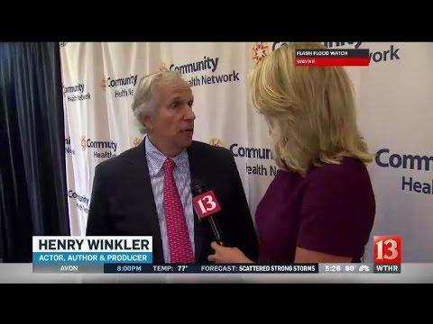 Henry Winkler visits Indy