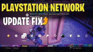 Playstation System Software Update FIX 8.00