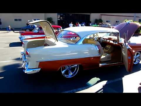 Awesome '55 Chevy 2 dr. hardtop w/ a cool new interior