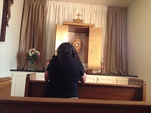 Act of Reparation to the Most Blessed Sacrament