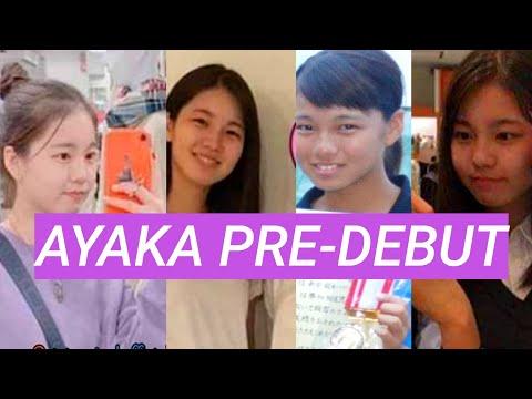 NiziU - AYAKA PreDebut (Before And Now) 虹プロ Nizi