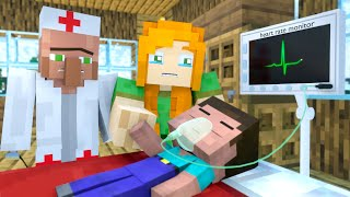 The minecraft life of Steve and Alex | Replacemen | Minecraft animation