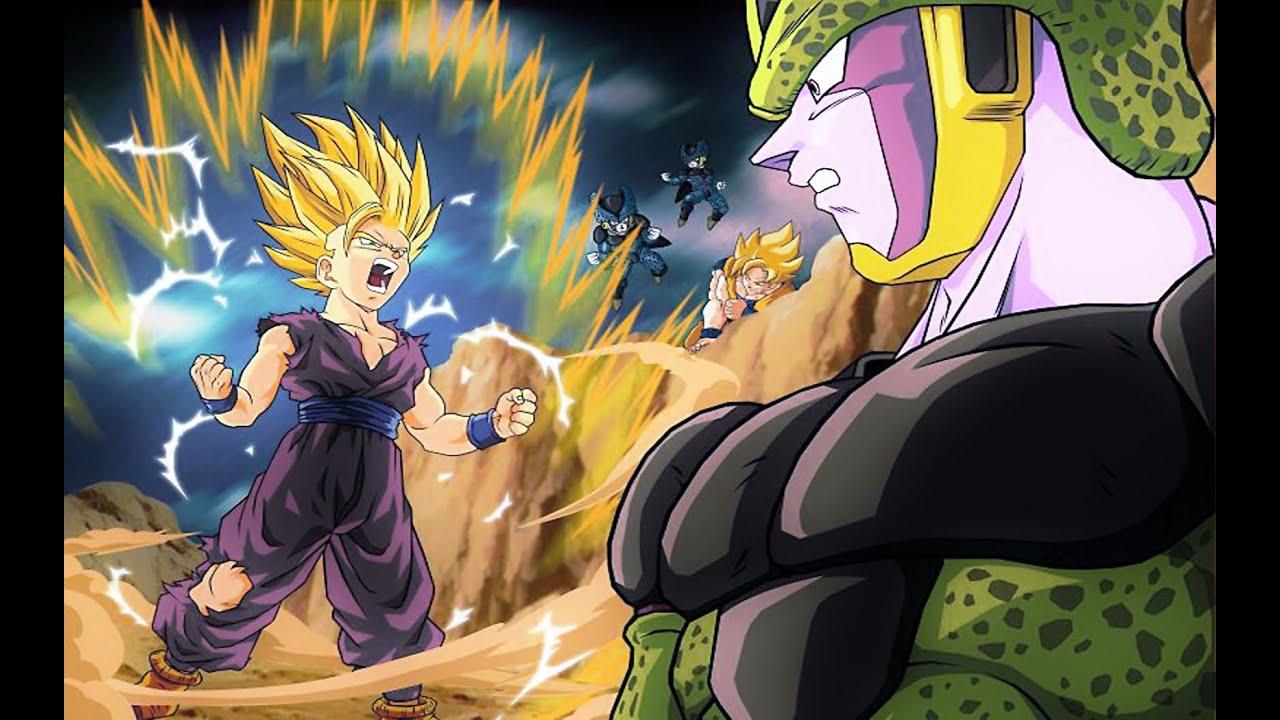 Goku vs teen gohan abspritzen, Schöne!