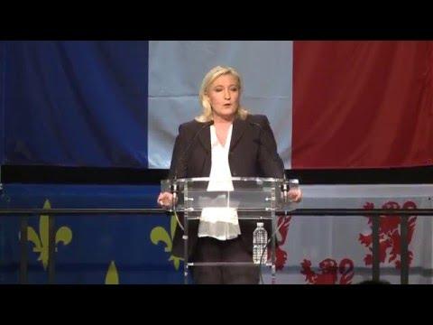Discours de Marine Le Pen à Hénin-Beaumont (06/12/2015)