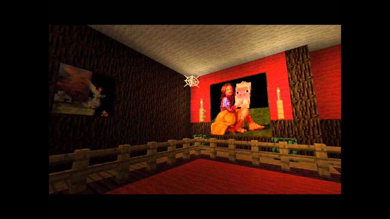 Populaire Minecraft - Le manoir hanté de Disneyland Paris - YouTube XX27