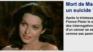 Le mystère de la mort de l'actrice Marie-France Pisier