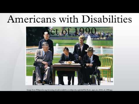 an introduction to the americans with disabilities act Architectural barriers act rehabilitation act the rehabilitation act of 1973 requires access titles ii and iii of the americans with disabilities act of.
