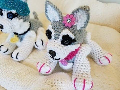 Siberian husky dog amigurumi pattern 1 (1) | Crotchet animals ... | 360x480