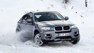 Экстремальное вождение авто по льду. Автоинструктор БЦВВМ: танец Вальс на BMW X6.Автошкола Барнаул