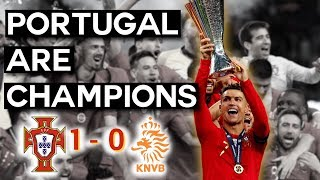 Portugal are Nations League Champions! | 2019 UEFA Nations League Final Recap