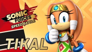 Sonic Forces: Speed Battle - Keeper of Chaos Event 💎: Tikal Gameplay Showcase