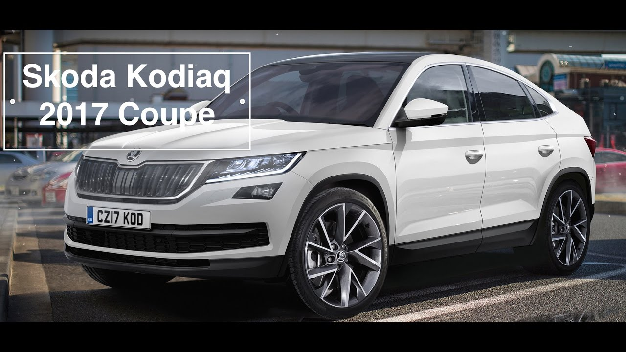 skoda kodiaq coupe 2017 youtube. Black Bedroom Furniture Sets. Home Design Ideas