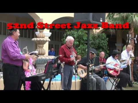 Phoenix 2013 Jazz Festival -- 52nd St. Jazz Band in Patio