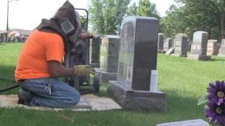 Cemetery Engraving