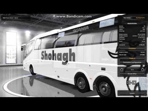 how to discover dealer and get bus in euro truck simulator 2