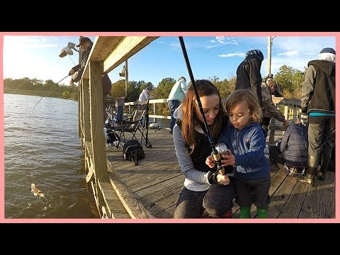 FIRST TIME FISHING!