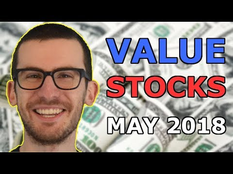 3 Value Stocks I'm Watching for May 2018