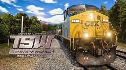 TRAIN SIM WORLD #1: Bombastische Zug-Simulation! I TRAIN SIMULATOR WORLD CSX HEAVY HAUL TSW deutsch