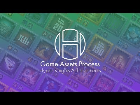Hayes2D // Game Assets Process // Hyper Knight Achievements  