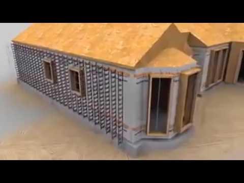 Новые технологии Дом с бетона YouTube