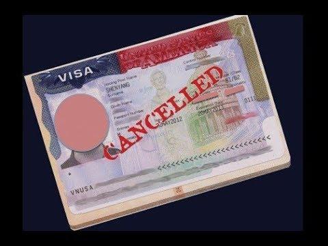 US Valid Visa Cancel Bhi Ho Sakta Hai, Kese? May 2019..