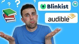 Blinkist vs Audible vs Reading Books