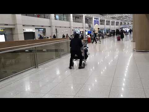 South Korea Winter Vacation - Day 1, Fun @ Incheon Airport