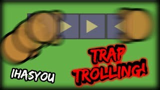 IMPOSSIBLE TO ESCAPE MOOMOO.IO TRAP TROLLING!! - iHASYOU