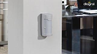 Diagral : Installation du détecteur extérieur compatible animaux
