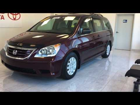Maroon 2010 Honda Odyssey DX Review Null   Grand Toyota