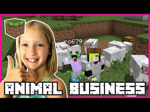 ANIMAL BUSINESS with ronaldOMG | Minecraft