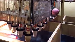 Bowling Alley Pin Machine: Behind the scenes [HD]