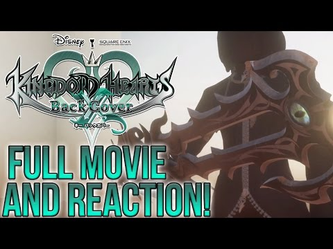 Kingdom Hearts XChi Back Cover - FULL MOVIE AND REACTION!