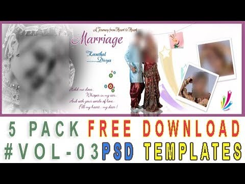 Photobook template free download | Photo albums | Free photo book | Photobook template psd