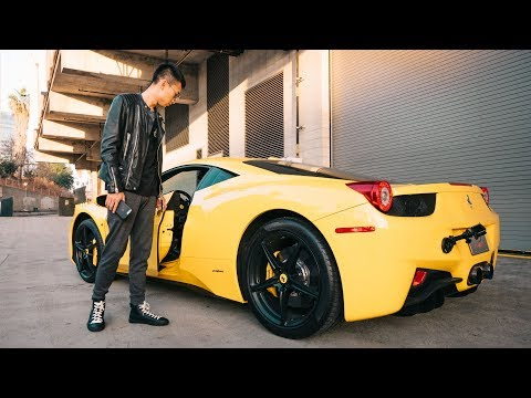 开着头痛的法拉利!- Crazy LOUD Ferrari 458 Italia!