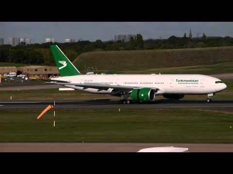 Turkmenistan Airlines Flight 429 (Ashgabat to BHX)