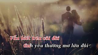 Chuyện Tình Mộng Thường - Tone Nam - Vietsing Karaoke