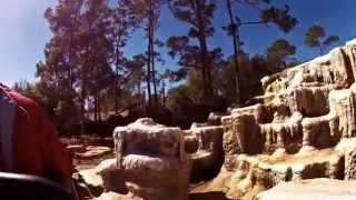 Disneyworld Orlando - Big Thunder Mountain Railroad - 28 January 2015 - Garmin Virb